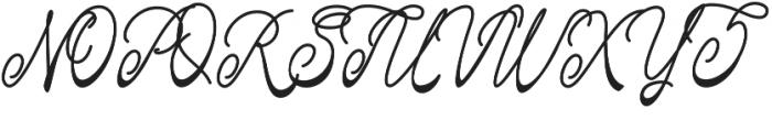 Fastter otf (400) Font UPPERCASE