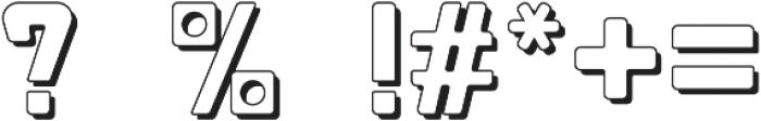 Fat Mecha S Regular otf (800) Font OTHER CHARS