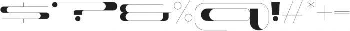 Fat Pleasure otf (800) Font OTHER CHARS