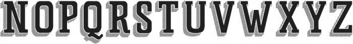 Father 3D ttf (400) Font UPPERCASE