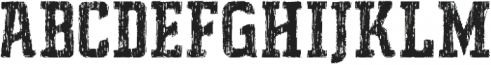 Father Distort ttf (400) Font UPPERCASE