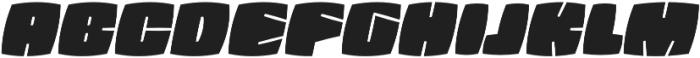 Fatquad 4F otf (400) Font UPPERCASE