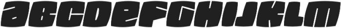 Fatquad 4F otf (400) Font LOWERCASE