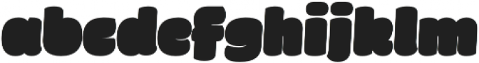 Fatta Black Italic otf (900) Font LOWERCASE