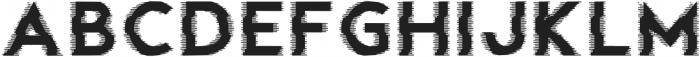 Fault Glitch otf (400) Font LOWERCASE