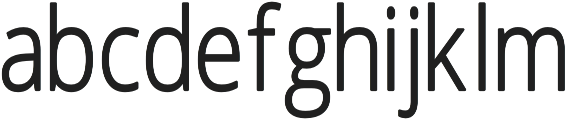Faun-Light Regular otf (300) Font LOWERCASE
