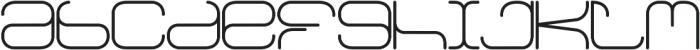 Faus Sans ttf (400) Font LOWERCASE