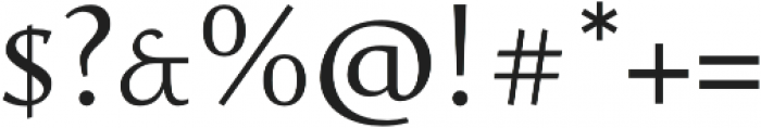 Favarotta otf (300) Font OTHER CHARS