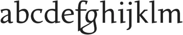 Favarotta otf (400) Font LOWERCASE