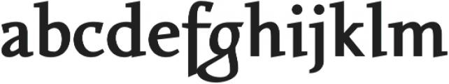 Favarotta otf (800) Font LOWERCASE
