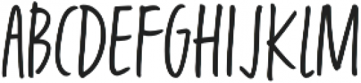 Fave Casual Light Condensed Light otf (300) Font UPPERCASE