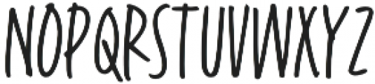 Fave Casual Light Condensed Light otf (300) Font LOWERCASE