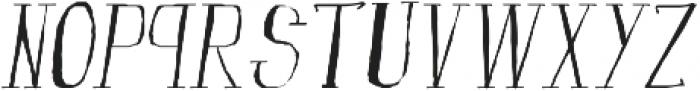 fanfarone-italique ttf (400) Font LOWERCASE