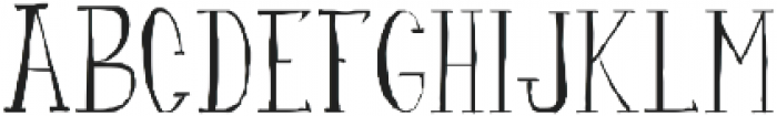 fanfarone ttf (400) Font LOWERCASE