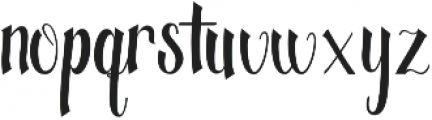 fantastic otf (400) Font LOWERCASE