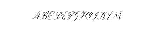 FanyaFont.otf Font UPPERCASE