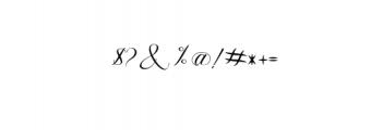 Fanya.ttf Font OTHER CHARS