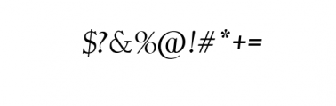 Fashion Society 2nd Italic.otf Font OTHER CHARS