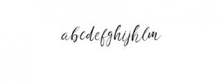 Fashion Society 2nd Italic.otf Font LOWERCASE