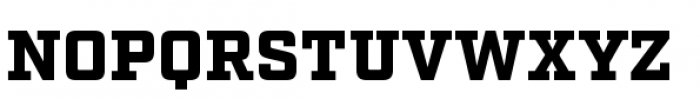 Factoria Black Font UPPERCASE