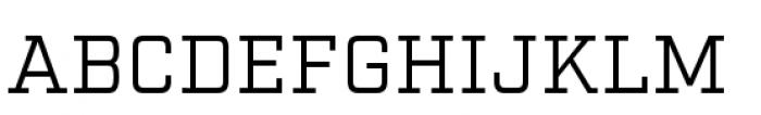 Factoria Book Font UPPERCASE
