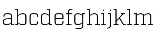 Factoria Light Font LOWERCASE