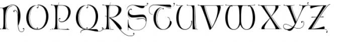 Fantasy Caps 1 Font LOWERCASE
