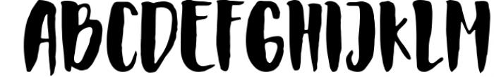 Faithful Typeface Font UPPERCASE