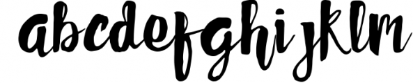 Faithful Typeface Font LOWERCASE