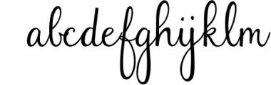 Faithfully - Hand Lettered Script Font Font LOWERCASE