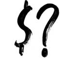 Falbench SVG & Brush Font Font OTHER CHARS