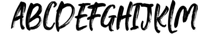 Falbench SVG & Brush Font Font UPPERCASE