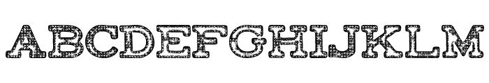 FACTORY-Regular Font UPPERCASE
