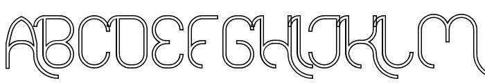 FALLINGINLOVEHollow Font UPPERCASE