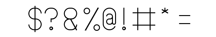 FALLINGINLOVELight Font OTHER CHARS