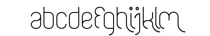 FALLINGINLOVELight Font LOWERCASE