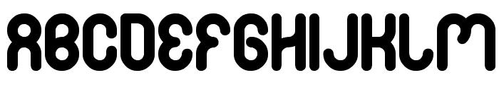 FAMILY & friend Font UPPERCASE