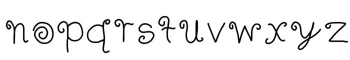 FANCY! Font LOWERCASE