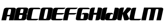 FANTASTIC FOUR MOVIE SLANT Font LOWERCASE