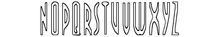 FARSCAPE Font LOWERCASE