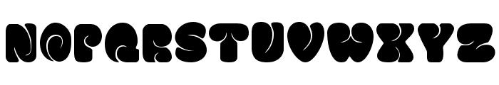 FATSOcaps Font UPPERCASE