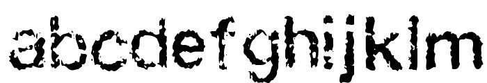 FAXADA Font LOWERCASE