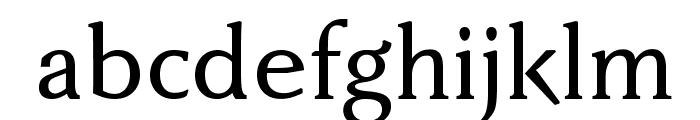 FaberDrei-Kraeftigreduced Font LOWERCASE