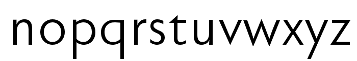 FaberSansPro-Normal Font LOWERCASE