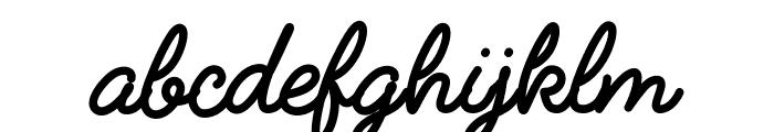 FabfeltScript Bold Regular Font LOWERCASE