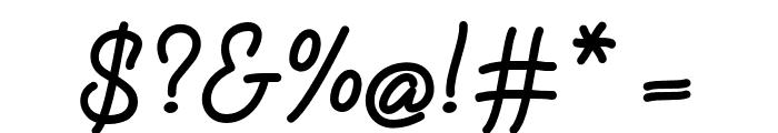 FabfeltScript Bold Font OTHER CHARS