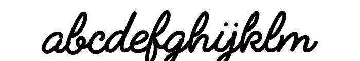 FabfeltScript Bold Font LOWERCASE