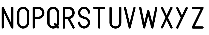 Fabiolo-Regular Font UPPERCASE
