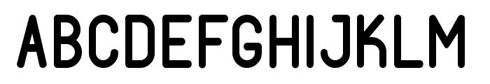 Fabiolo Semibold Regular Font UPPERCASE