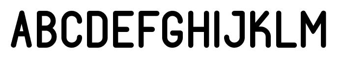 Fabiolo-SmallCap Semibold Regular Font UPPERCASE